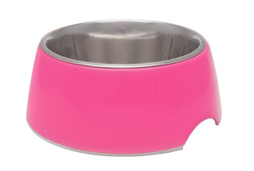 Loving Pets Hot Pink Retro Bowl