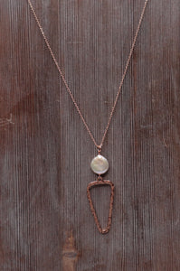 Luna Rose Gold Necklace
