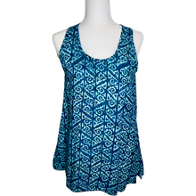 Load image into Gallery viewer, Teal Aztec Tina Tank Top