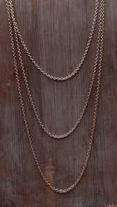 Penny Gold Necklace