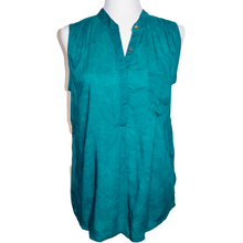 Load image into Gallery viewer, Turquoise Smoked Tina Top