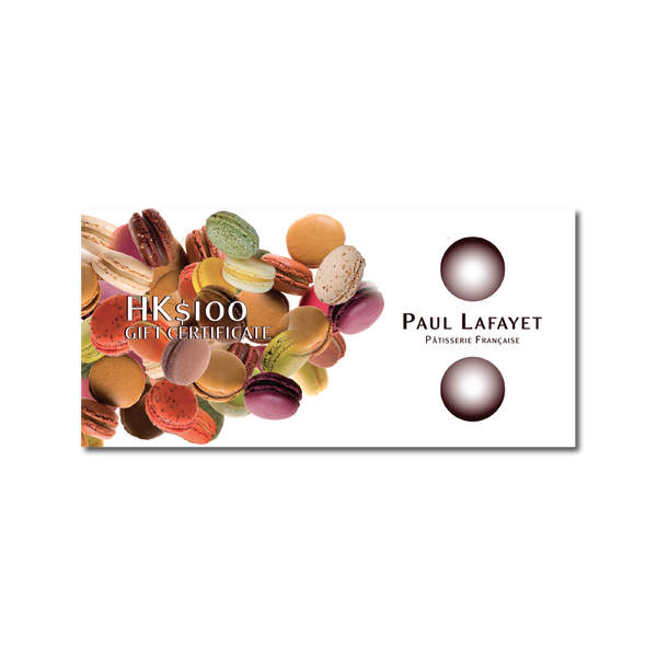 Cash Voucher - $100 | Paul Lafayet