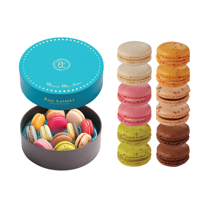 Macaron Gift Box Set 12 pcs - Traditional