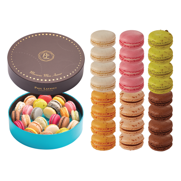 Macaron Gift Box Set 24 pcs - Traditional