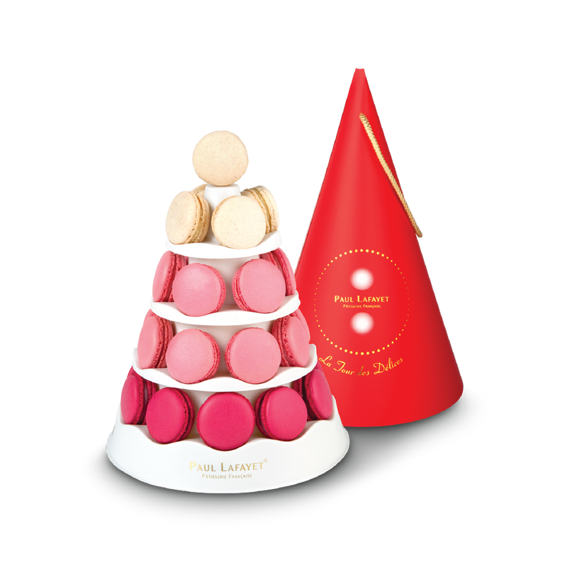 Macaron Tower - Traditional (29pcs) | Paul Lafayet