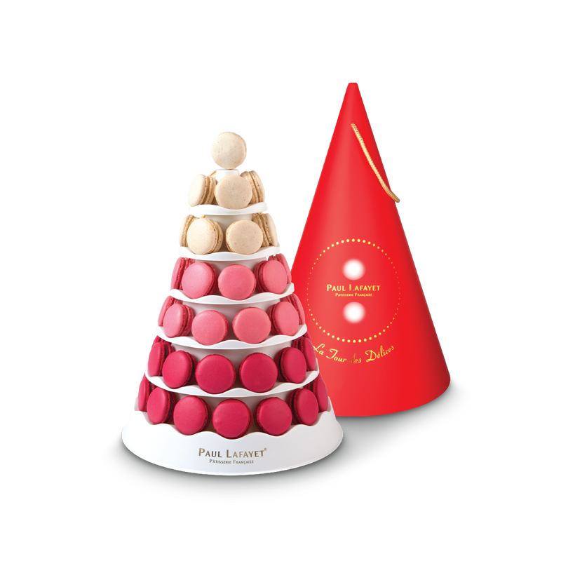 Macaron Tower - Traditional (55pcs) | Paul Lafayet