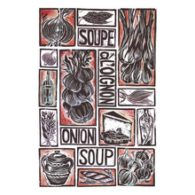 Load image into Gallery viewer, Kate Guy Prints French Onion Soup illustrated recipe greetings card