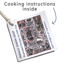Load image into Gallery viewer, Simple Soups Illustrated Recipes Organic Cotton Double Oven Glove