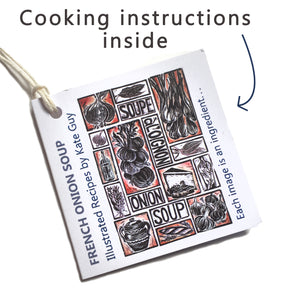 Simple Soups Illustrated Recipe Organic Cotton Apron
