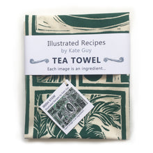 Load image into Gallery viewer, Irish Stew Illustrated Recipe Tea Towel
