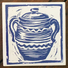 Load image into Gallery viewer, Casserole Handmade Tile Trivet