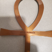 Load image into Gallery viewer, XL Solid Copper Ankh