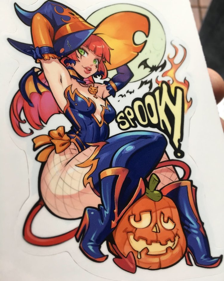 Candela Halloween Seasonal Sticker