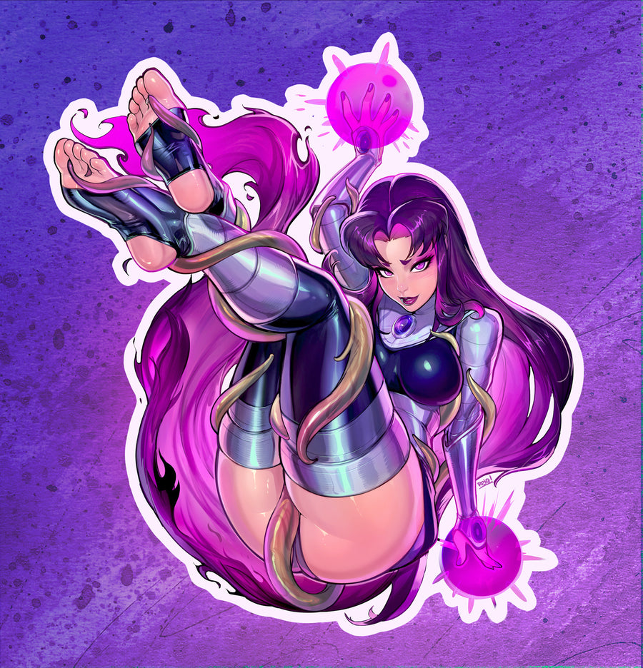 [NSFW] Teen Titan's BLACKFIRE TENTACLE Ver Sticker