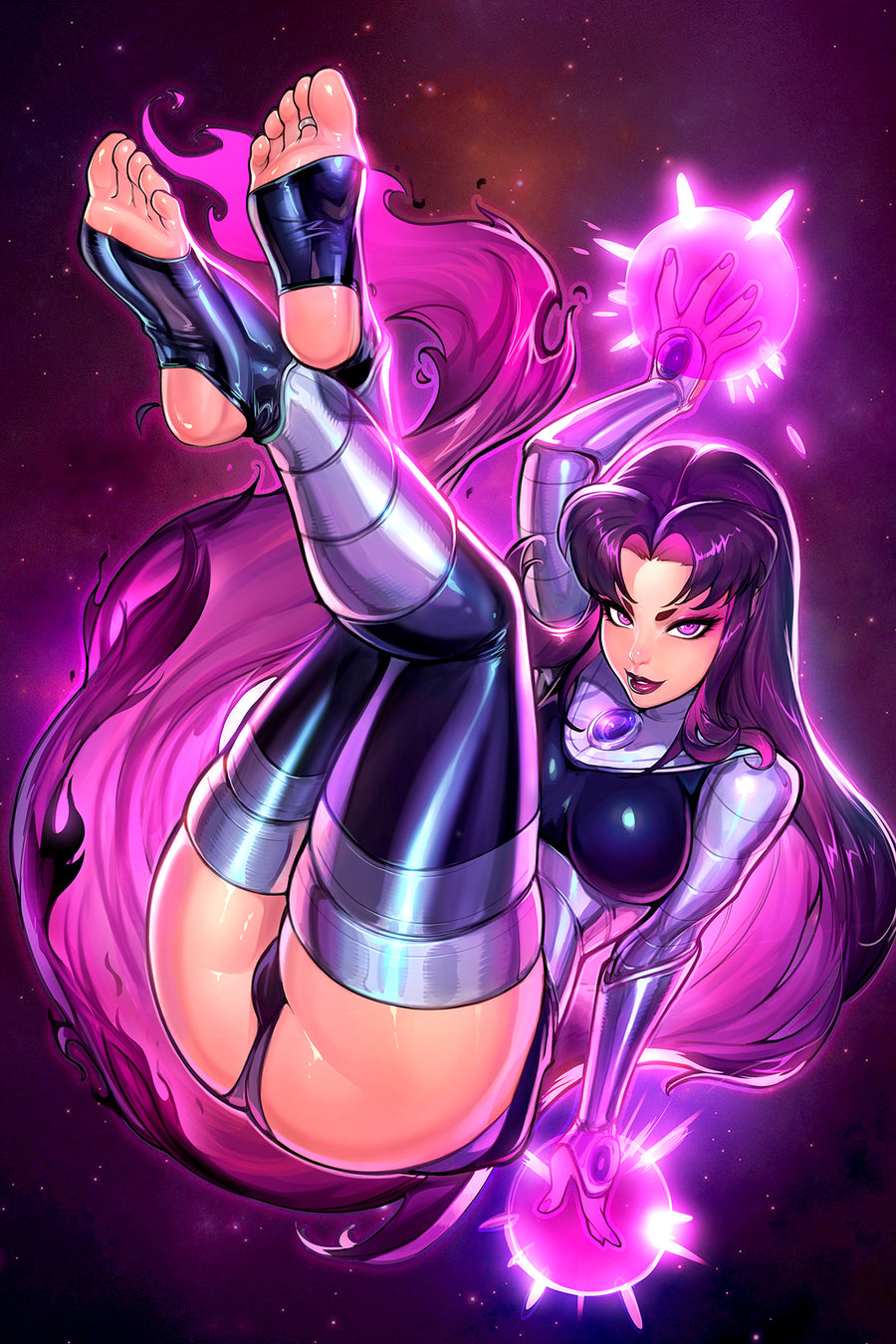Teen Titan's Blackfire