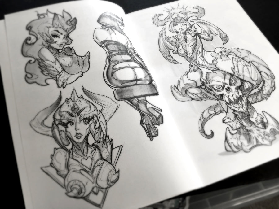 REIQ Sketchbook Vol. 4 + Exclusive Sticker!