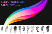 REIQ's Procreate Brush Set Ver 01