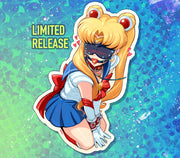 Sailor Moon Redraw Challenge Sticker Limited 150 pcs