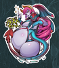 Candela Succubus Side B Sticker