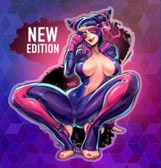 Juri Clear Sticker