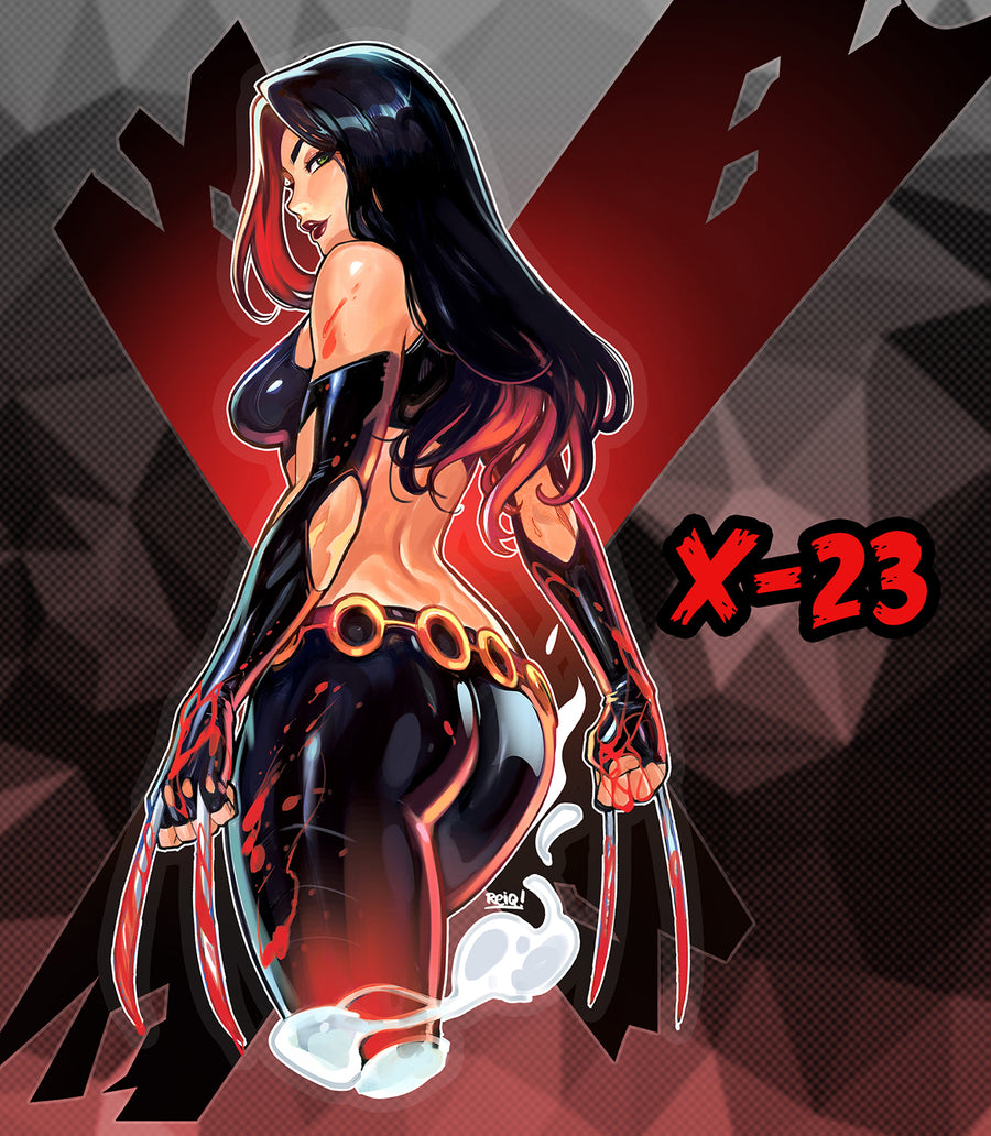 X-23 Clear Sticker
