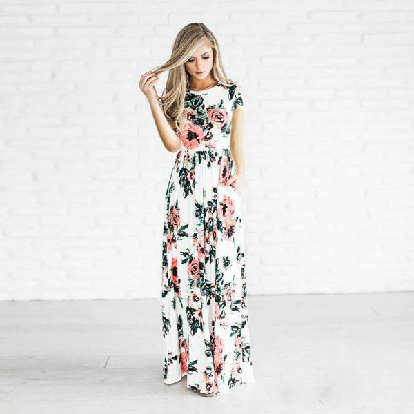 Mandy - Floral Maxi Dress