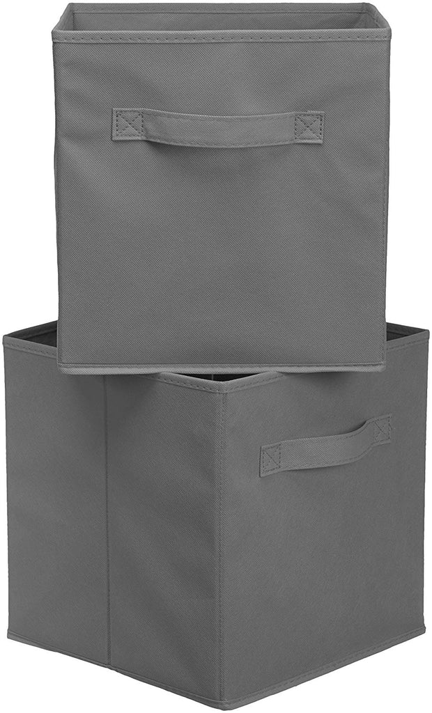 HomeFX Foldable Storage Bins Cubes Organizer Set of 6 | Monthly Madness