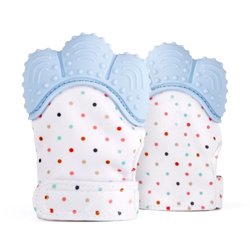 Comfy Kids Teething Mitten Glove Set of 2 | Monthly Madness