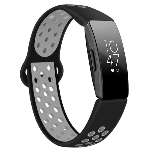 Linxure Fitbit Inspire Silicone Replacement Strap Large