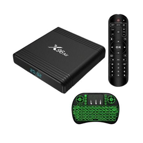 Ntech X96 Air Smart Android TV Box with i8 Keyboard Remote - 4GB RAM (DSTVNow)