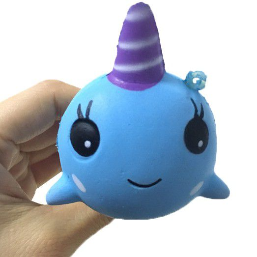 Gigglebread Scented Squishy Fish Unicorn - Set of 2 | Monthly Madness