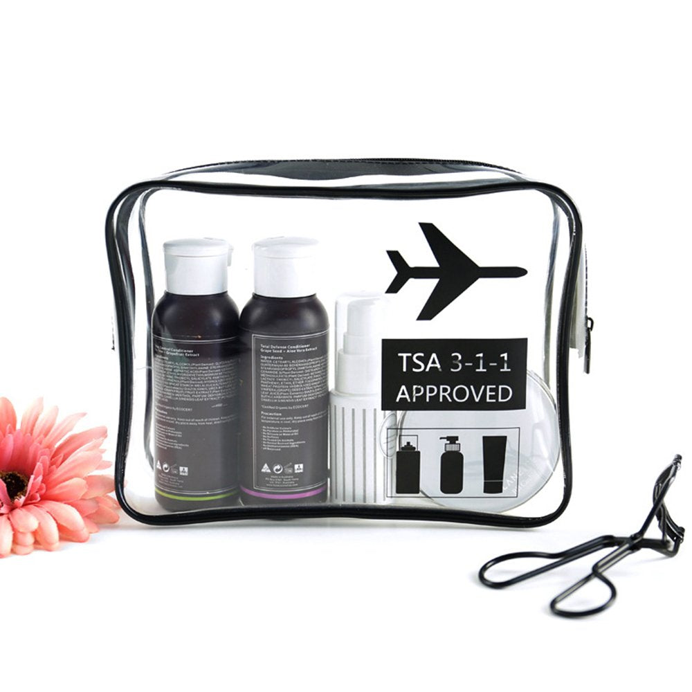 Transparent toiletry bag | Monthly Madness