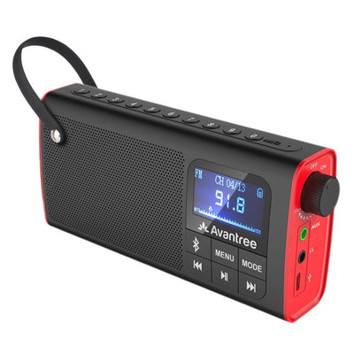 Avantree 3 in 1 Portable Bluetooth Speaker with FM Radio