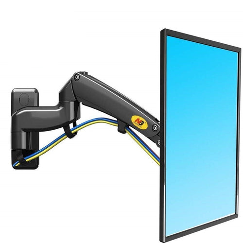 NB North Bayou Swivel Double Extension TV Monitor Wall Mount - 30-40 Inch