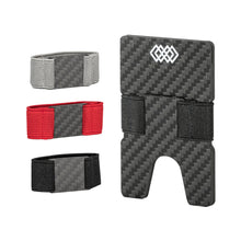 Load image into Gallery viewer, WEAV Slim Carbon Fibre RFID Blocking Stretch Wallet | Monthly Madness
