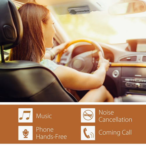 Avantree Bluetooth Handsfree Visor Car Kit