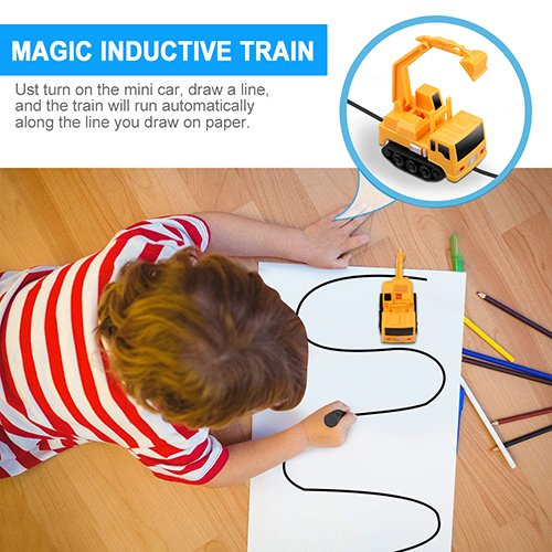 Magic Inductive Truck Toy | Monthly Madness