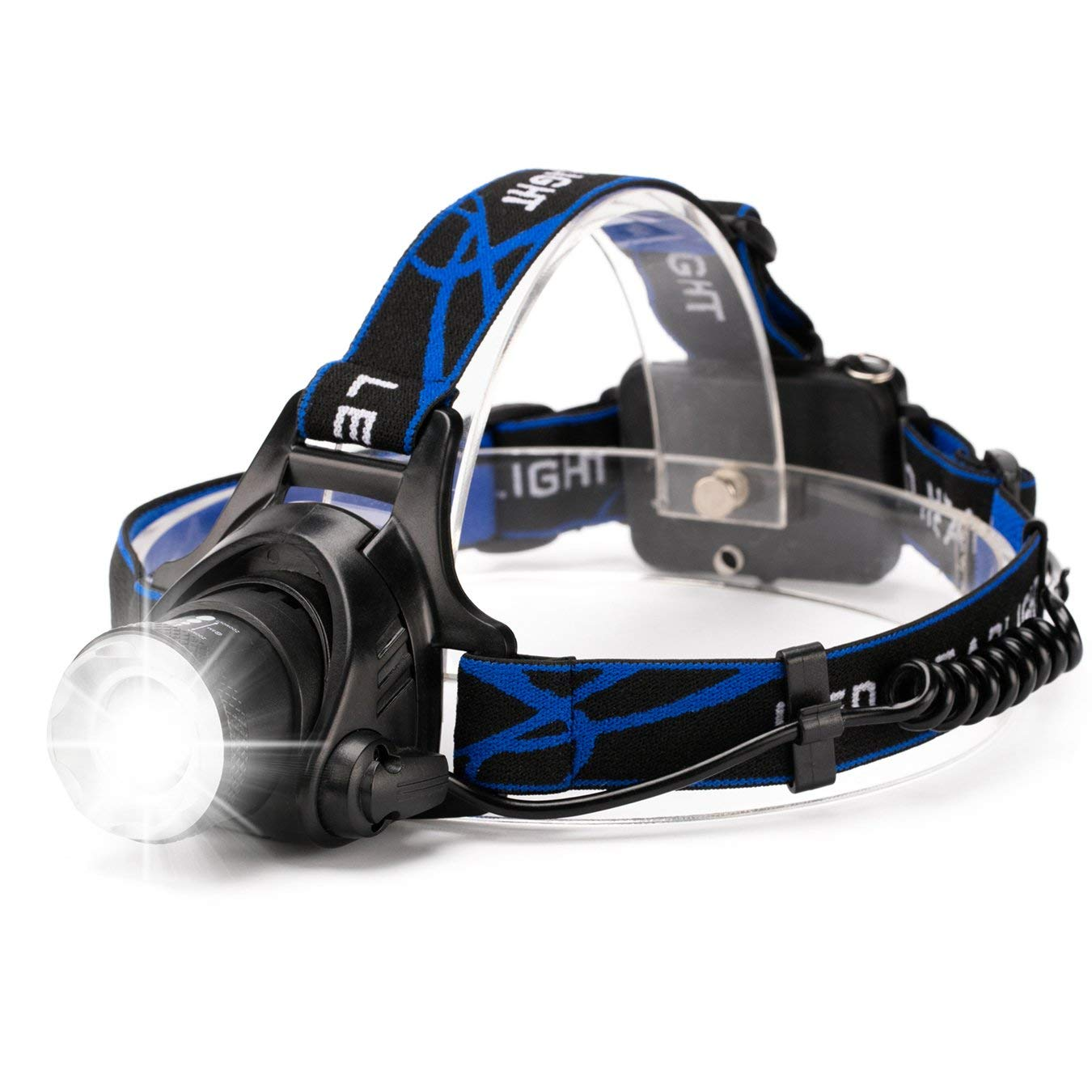 800 Lumen Zoomable Headlamp Torch with 3 Modes | Monthly Madness