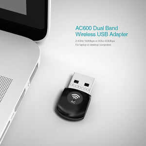 Dodocool Wifi Adapter AC600 Wifi Dongle | Monthly Madness