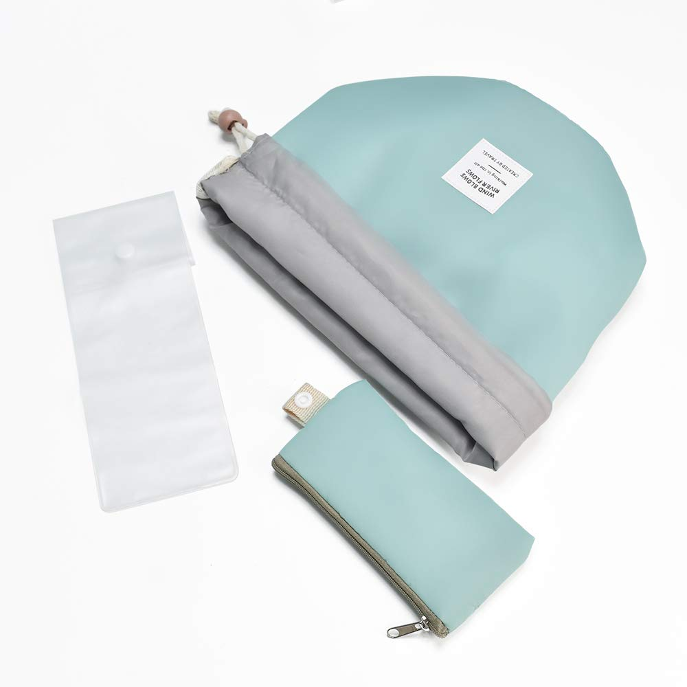 Maisonware Waterproof Travel Cosmetic Bags