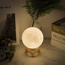 Load image into Gallery viewer, Lumina LED Colour Changing Moon Night Light Lamp | Monthly Madness
