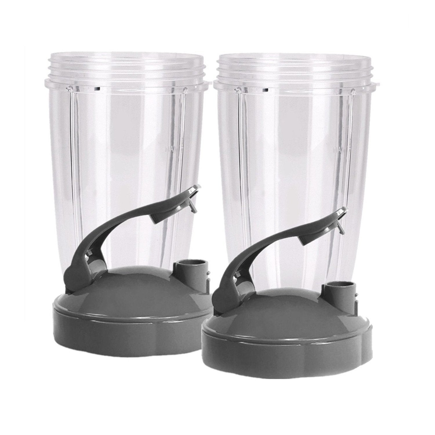 KitchenFX Nutribullet Replacement Cups with Lids - Set of 2 | Monthly Madness