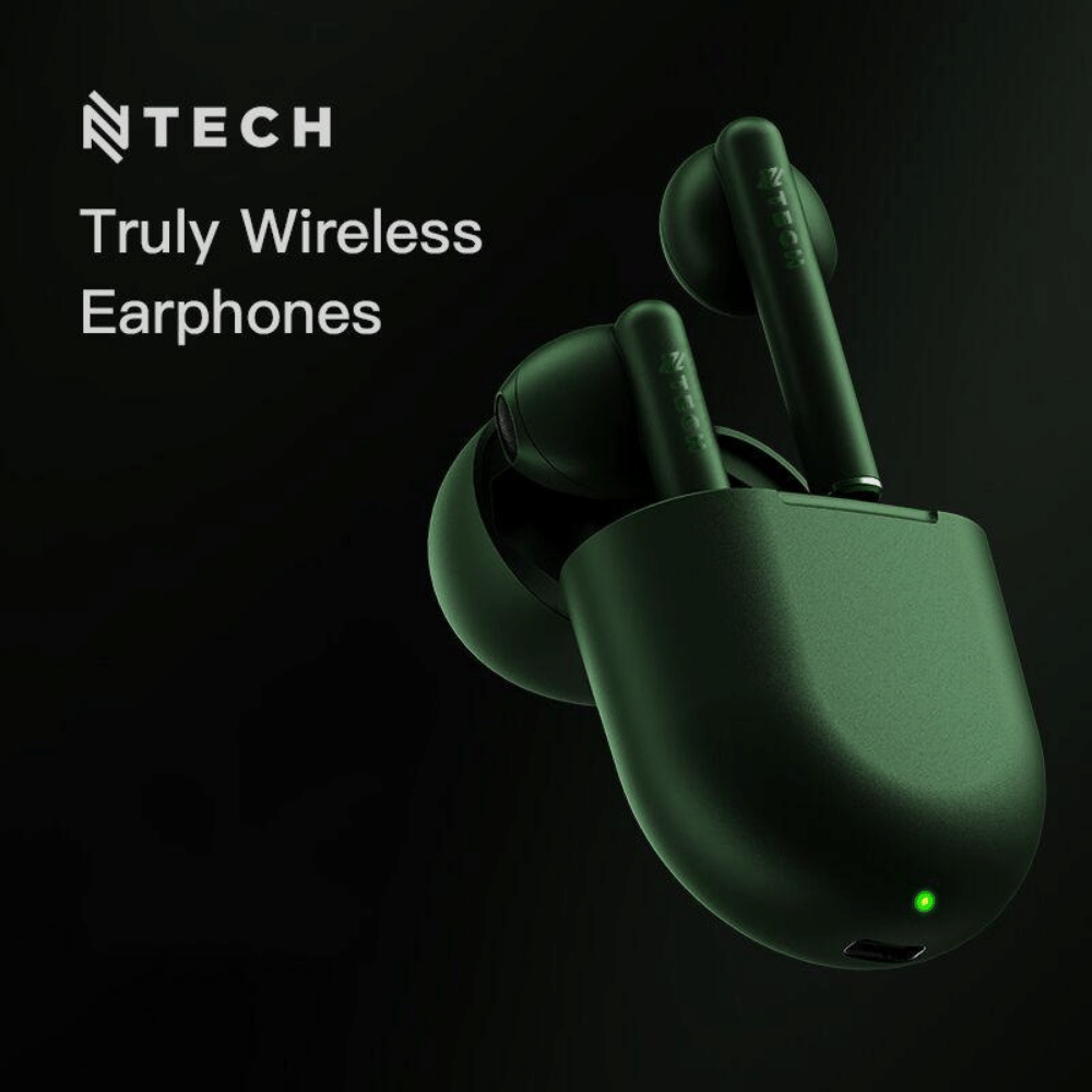 Ntech B7 True Wireless Bluetooth Earpods with Charging Case
