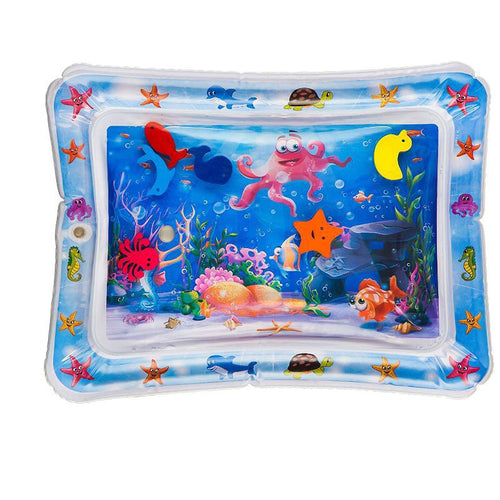 Playful Panda Tummy Time Water Mat for Infants and Toddlers