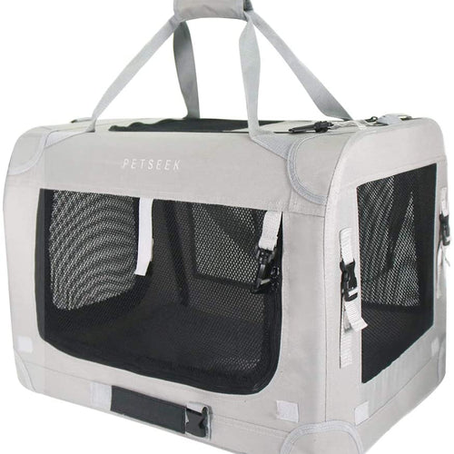 Petseek Collapsible Pet Carrier