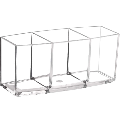 Styleberry Rectangular Clear Cosmetic Organizer