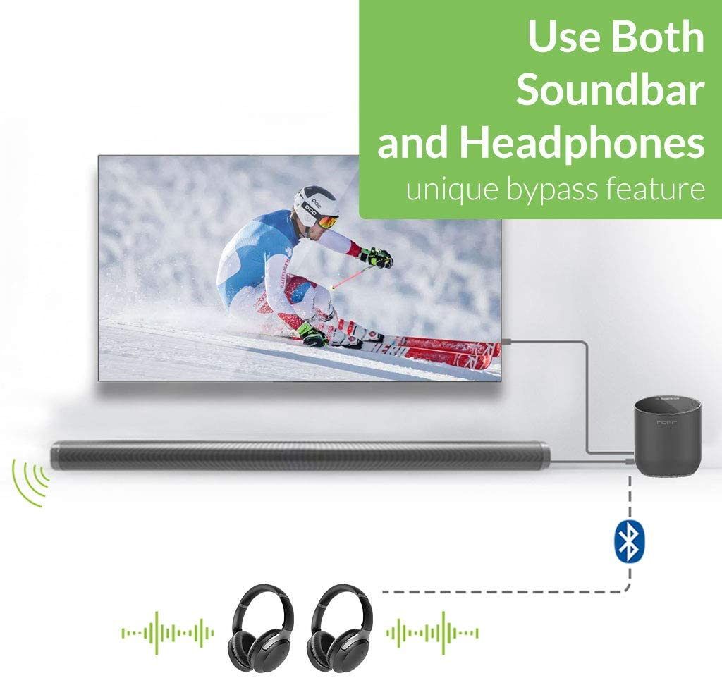 Avantree Orbit Bluetooth 5.0 Audio TV Wireless Transmitter