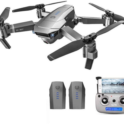 Ntech SG907 GPS 5G WiFi FPV Foldable Drone with Extra Battery