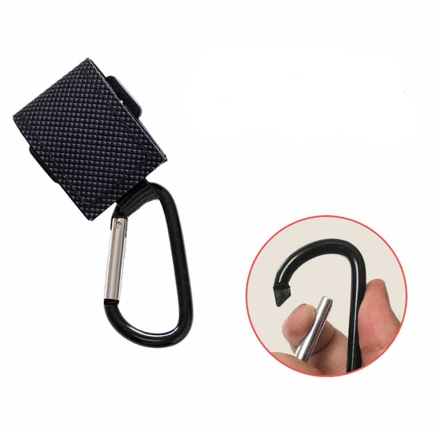 Playful Panda Universal Stroller Non-Slip Adjustable Multi-Purpose Hooks