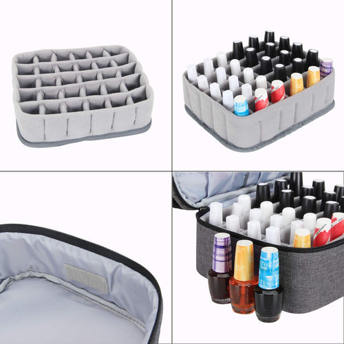 Styleberry Double Layer Extra Large Nail Polish Organiser Case